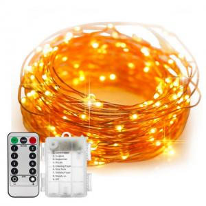 LED Copper Wire String Lamp for Decorative Lighting
