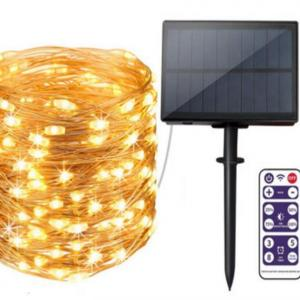 50m 164 feet solar fairy light